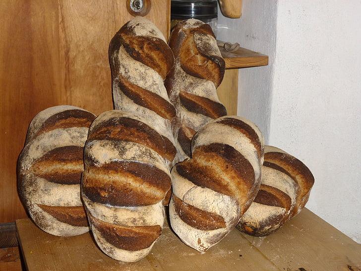 leib, leib ahju, leib põllumajandustootja, Päts leiba, Boulanger, Krõbe, Omatehtud