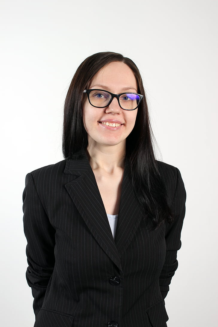woman, glasses, business woman, professional, business suit, person, corporate