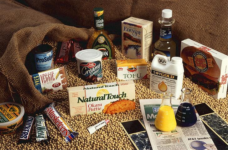soje, hrana, koristi, zdrav, grah, zelena, soja