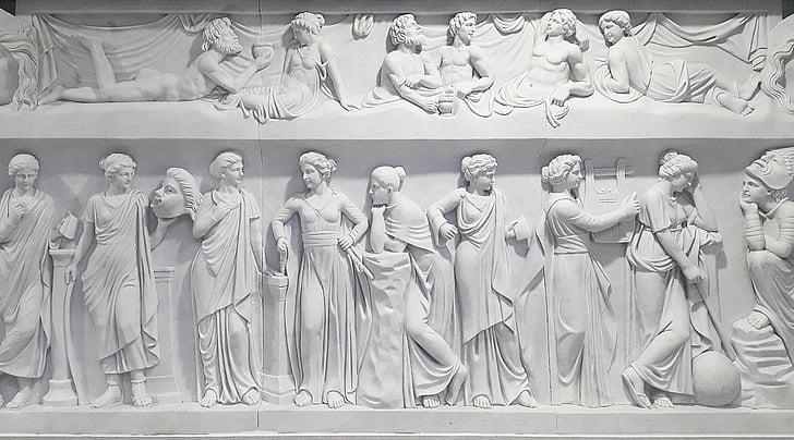 greece, greek mythology, in, roman, mythology, statue, architecture