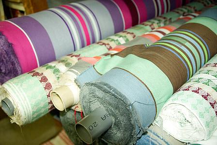 tkanine, područje crtanja, role, tekstilna, krojač, odjeća, modni