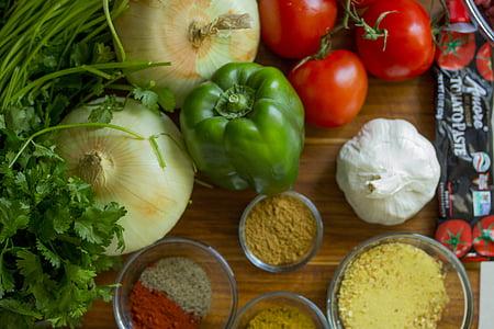 lauksaimniecība, Bell peppers, čilli, krāsains, krāsainiem, ēdiena gatavošanai, garšīgi