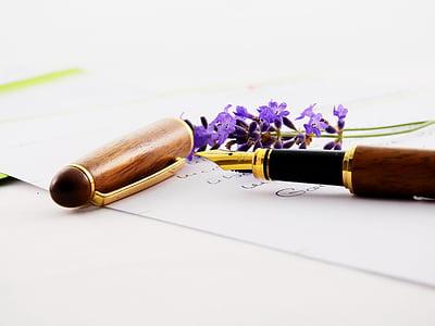 Lavendel, lill, lilla, loodus, Violet, lilled, Lavendel lilled