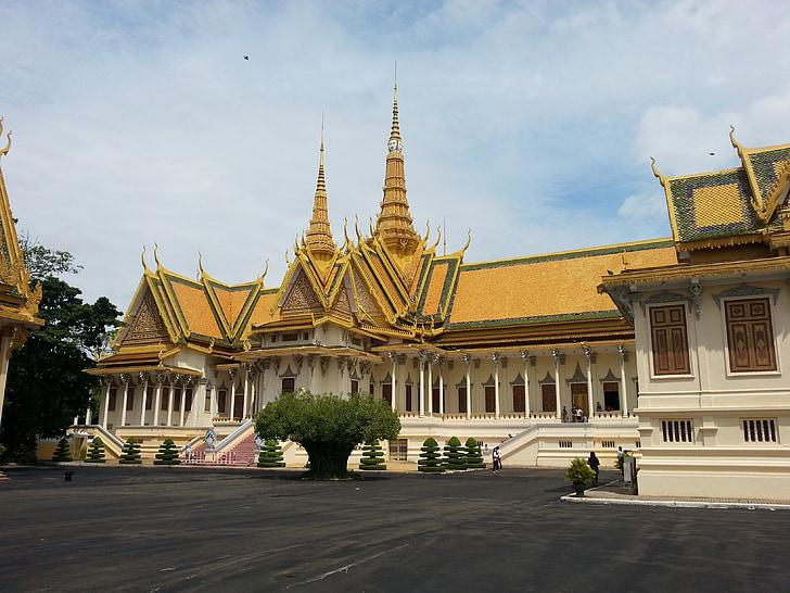 Камбоджа, Пном Пен, Кралски дворец