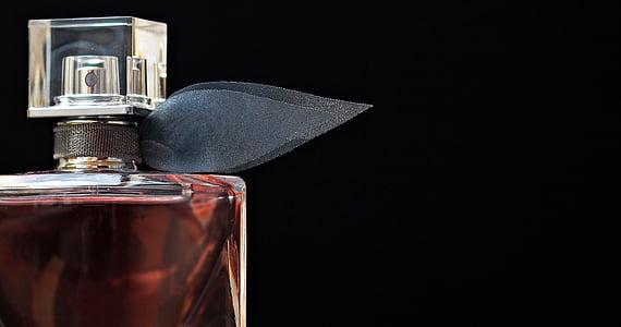 Perfum, flacon, ampolla de vidre, ampolla, bodegons, Perfum, fragància