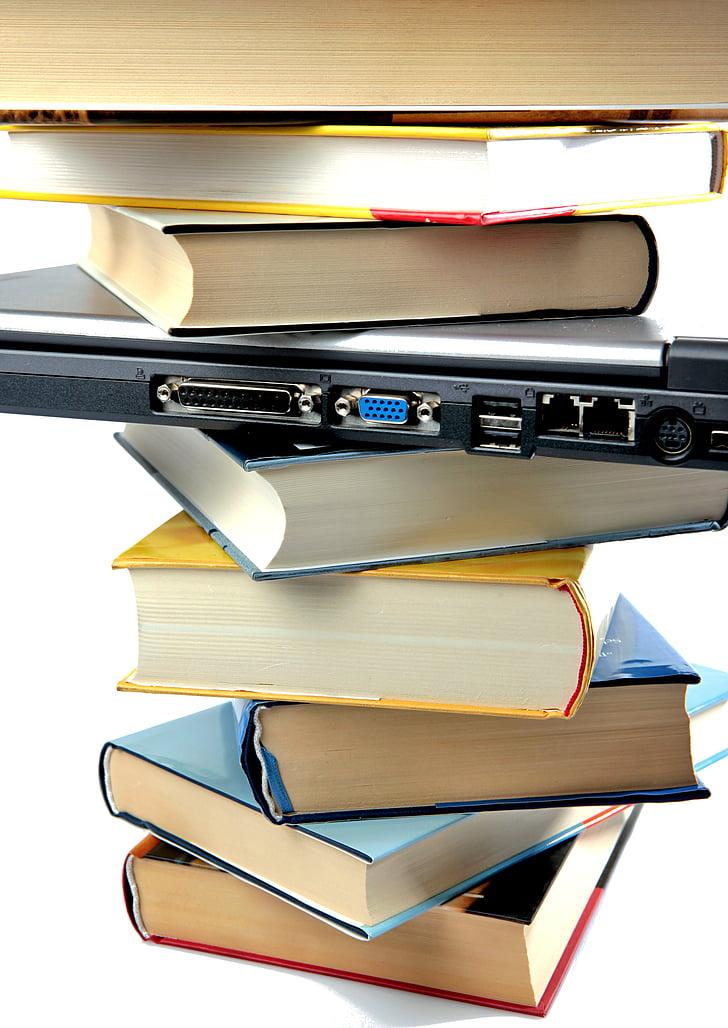 llibre, llibres, llegir, literatura, pila, pressió, apilada