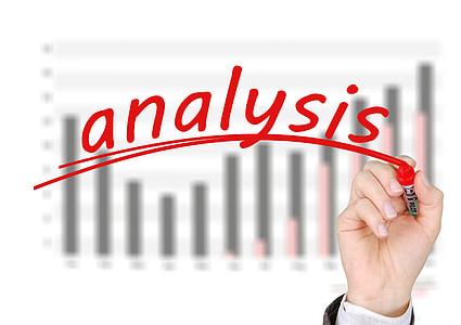 问题, 分析, 马克, 标记, 手, 解决方案, 放大镜