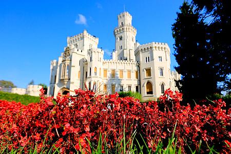 blomster castle, tsjekkisk, Sentral-Europa
