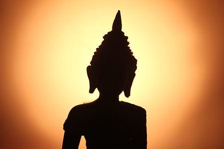 Buddha, Zen, meditace, Buddhismus, náboženství, Asie, socha