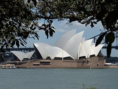 Австралія, Сідней, оперний театр, Сідней Харбор, Архітектура, Opera, Сіднейський оперний театр