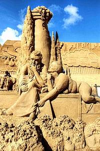 sand, sand sculptures, sandworld, sand sculpture, statue, sculpture, artwork