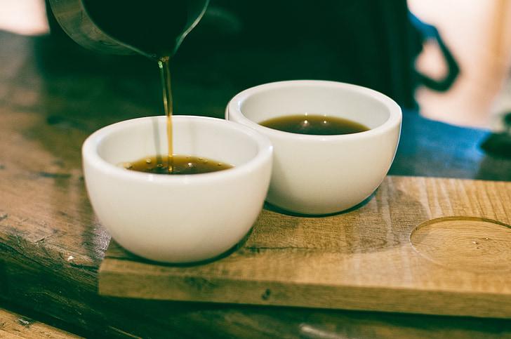 tee, tassi, jook, Tabel, Cup, toidu, puit - materjal