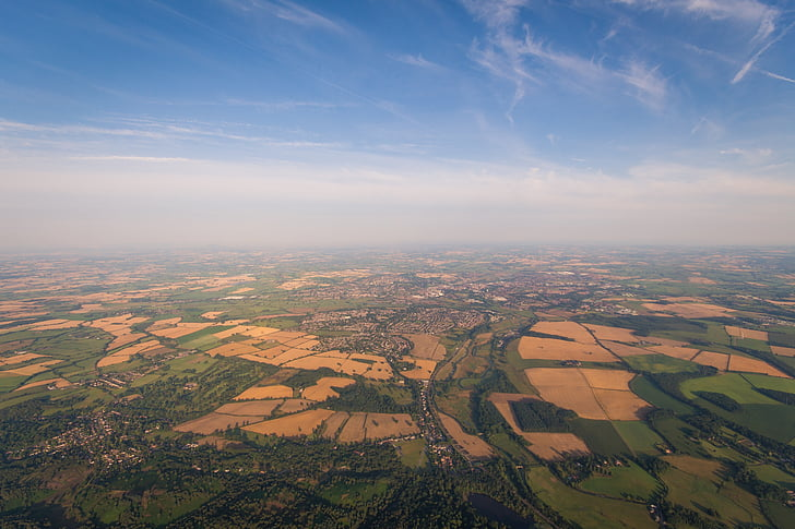 landscape, overview, environment, rural, map, flying, aerial