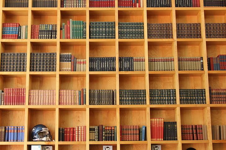 Biblioteca, carti, cunoştinţe, librărie, raft, raft, bibliotecă