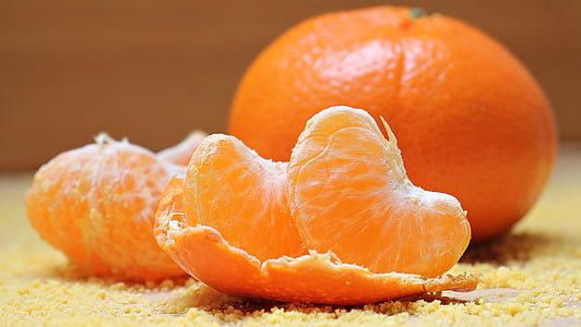 tanžerīni, Citrus, augļi, klementīni, citrusaugļi, vitamīnu, sulīgs