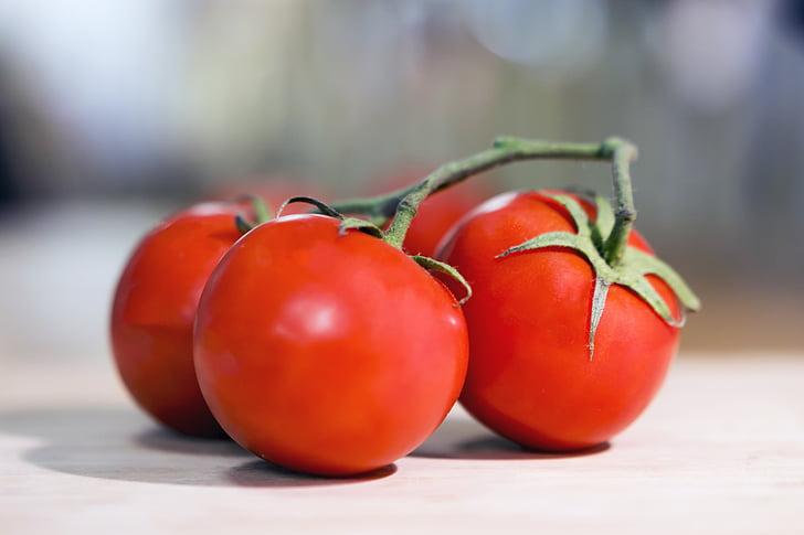 tomàquet, vermell, verdures, tomàquets, aliments, produir, sucoses