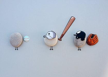 bóng chày, thể thao, trò chơi, quả bóng, cầu thủ bóng chày, Găng tay, Bat