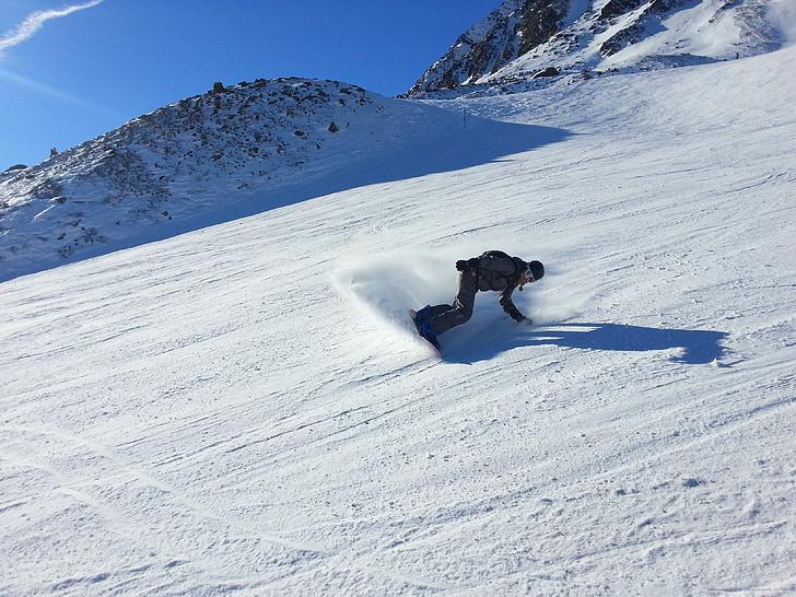 snowboard, sandboarding, fun, recreational sports, leisure, sport, alpine