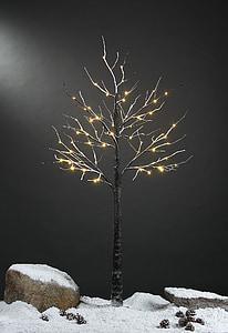 LED lys, snø treet, snø treet pode, ledet treet, LED lys treet, ledet snø treet