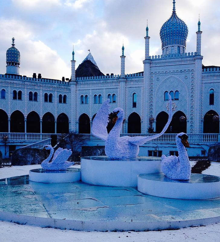 розваг, Данія, Копенгаген, атракціон, туристичні, притягнення туриста