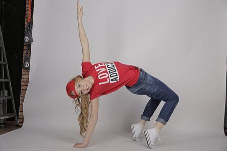 Ball, ballarins, dansa, ballarí, Escola de dansa, gimnàs, de break dance