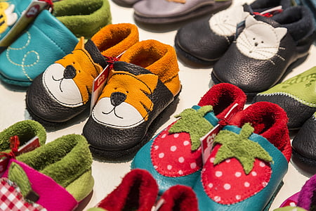 children, children's shoes, shoes, tiger, strawberry, child, clothing