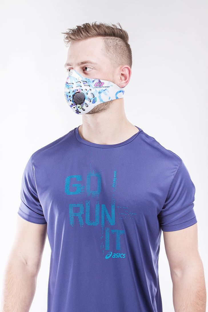 smogas, stopsmog, oro tarša, kaukė antysmogowa, kaukė sporto, kvėpuoti sveika, kvėpuoti