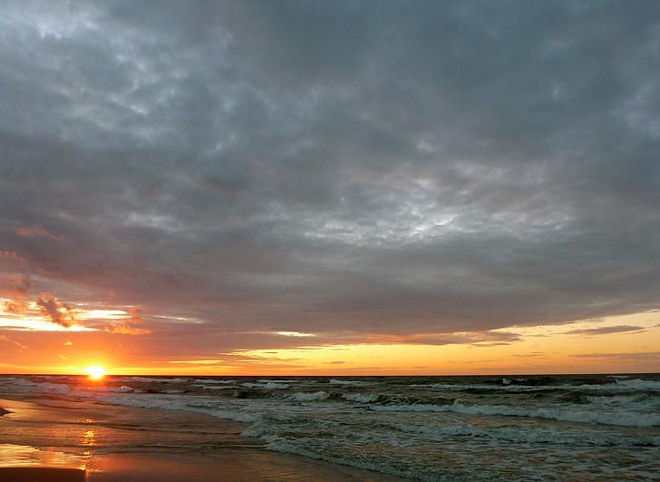 vacances, el sol, vacances, Mar, la Costa del mar Bàltic