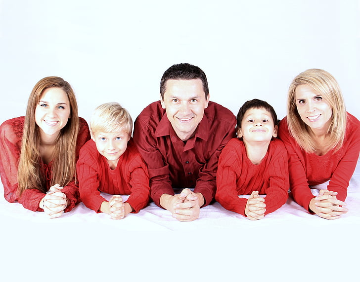 family, kids, happy, people, mother, father, kid