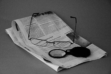 ulleres de sol, revista, Notícies, lectura, Lupa