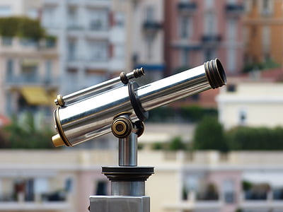 telescope, by looking, view, optics, vision, overview, outlook