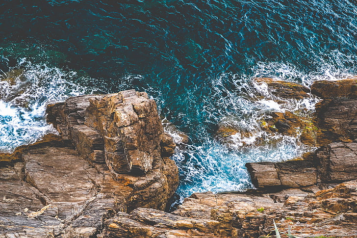 havet, Ocean, vatten, vågor, naturen, Rocks, kusten