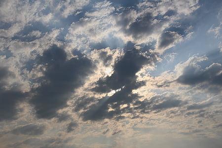 ท้องฟ้า, เมฆ, คราม, เมฆสีดำ