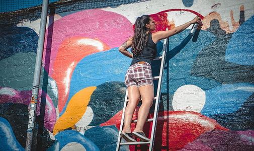 grafiti, artis, grafiti, budaya, grafiti dinding, gaya hidup, di luar rumah