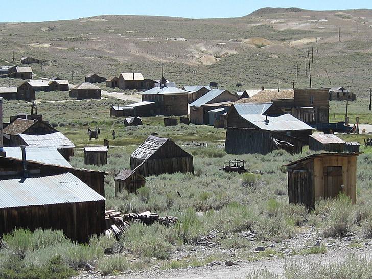bodie, California, Kalnrūpniecība, ghost town, bodie ghost town, pametis, mežonīgie Rietumi