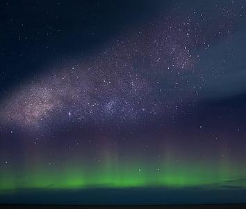 Visums, galaktika, naksnīgajām debesīm, naktī, Astronomija, zvaigzne - telpa, telpa