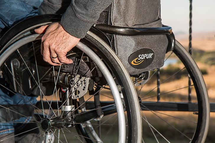 Rollstuhl, Behinderung, verletzt, deaktiviert, Behinderte, Handicap, medizinische