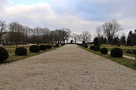 Parc, disseny de jardins