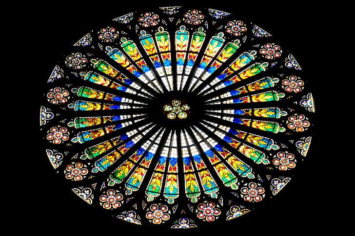 vidre de la finestra, l'església, finestra de l'església, finestra, Vitrall, vidrieres, finestra de vidre