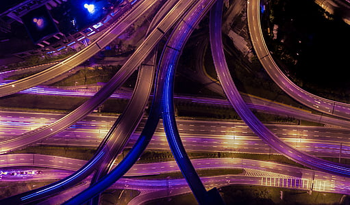 het platform, gebouw, infrastructuur, weg, manier, Straat, brug