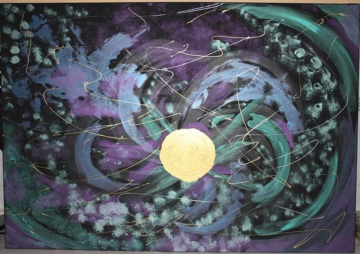 fantasia, espai, cosmos
