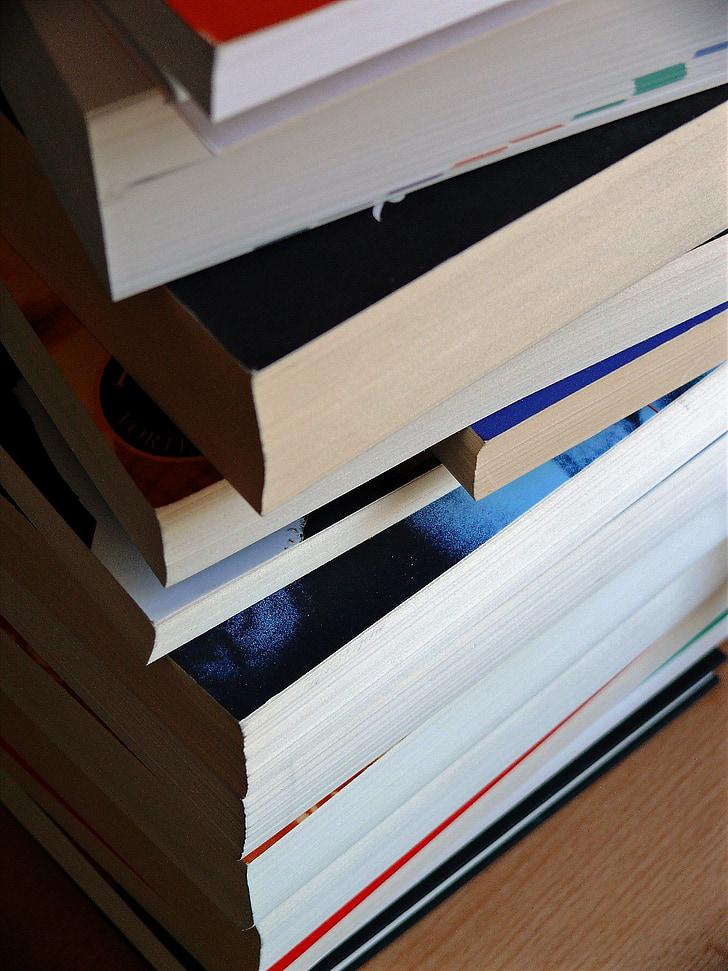 llibre, associacions de llibre, llibres, pila de llibre, sèrie de llibres, columna vertebral, col·lecció llibres