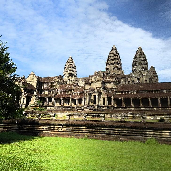Сием Реап, Ангкор Ват, храма, Камбоджа
