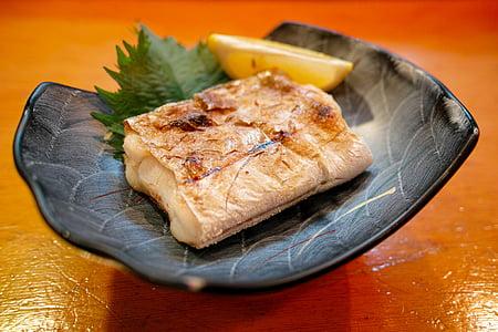 Restaurant, cuina, aliments, dieta, peix, plats de peix, Graellada de peix