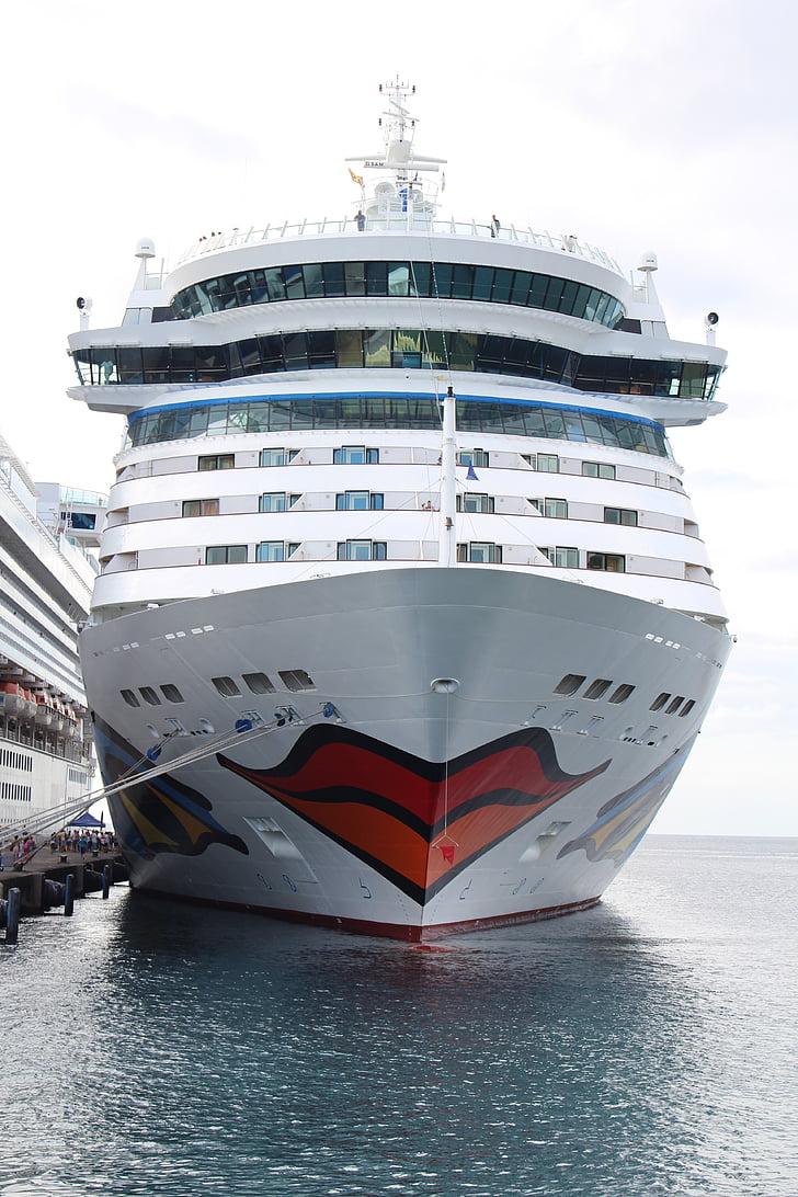 Aida, kryssning, fartyg