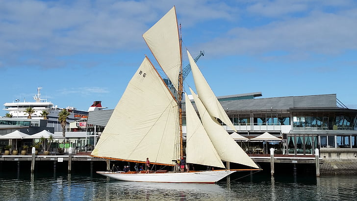 Yacht, segling, båt, havet, segel, segelbåt, Yachting