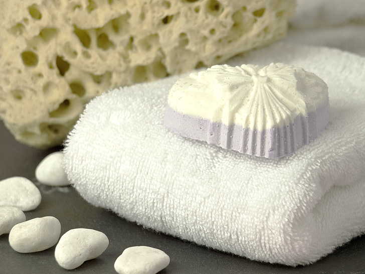 natural cosmetics, soap, towel, cleaning, clean, hygiene, wash