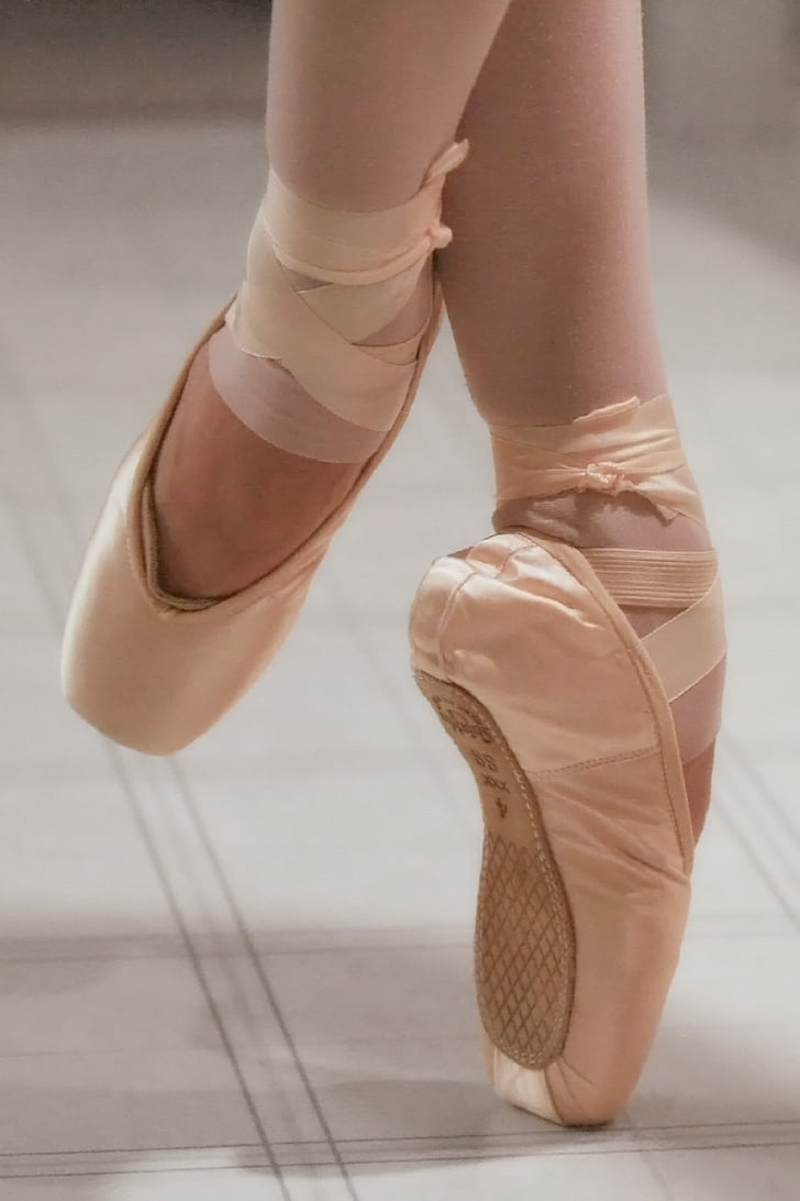 Ballet, ballerine, chaussons de pointe, danseuses de ballet, Balance, chaussure, danse