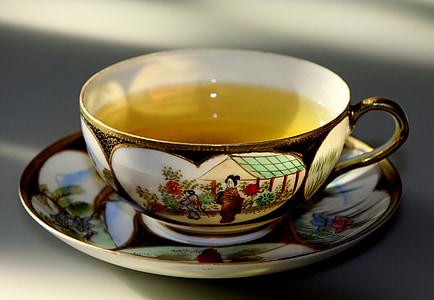 čaj, teplé, pohár, horúce, nápoj, šálka čaju, nápoj