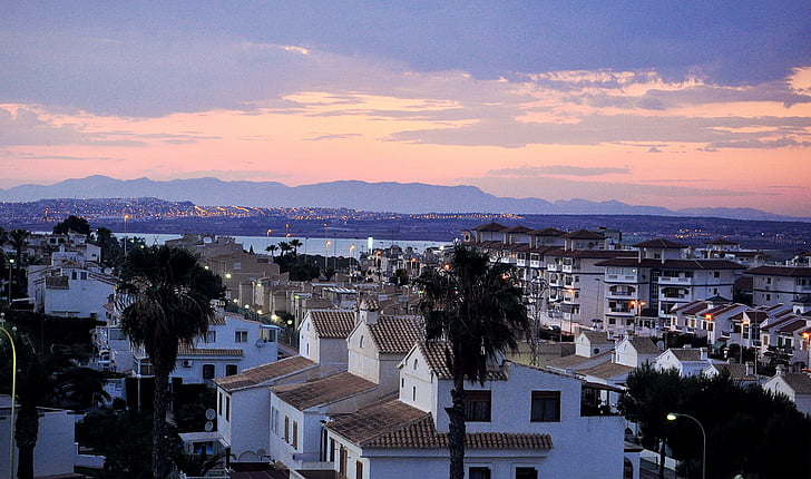 summer, spain, sunset, vacation